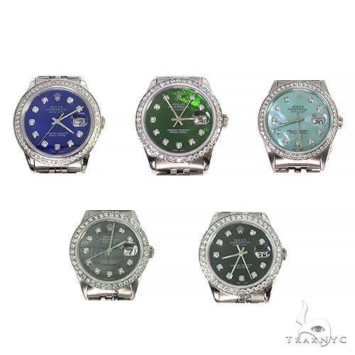 Rolex DateJust 36mm Diamond Bezel Watch 66520 Diamond Rolex Watch Collection