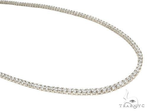TraxNYC Signature 5 Pointers 14K White Gold Diamond Tennis n 66595 Diamond
