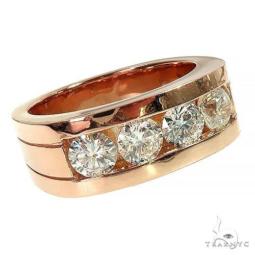 14K Gold 4 Stone Diamond Ring 66629 Stone