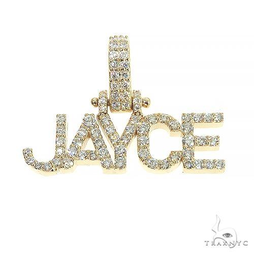 14K Gold Diamond Name Pendant 66633 Metal