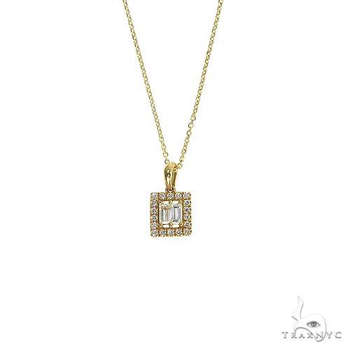 14K Gold Diamond Necklace 66635 Diamond