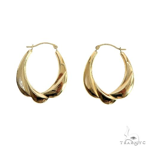 14K Gold Earrings 66677 Metal