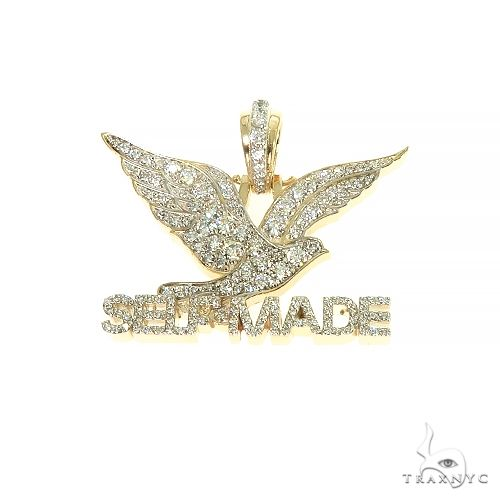 Super Self Made FreeBird Diamond Charm Pendant 66701 Metal