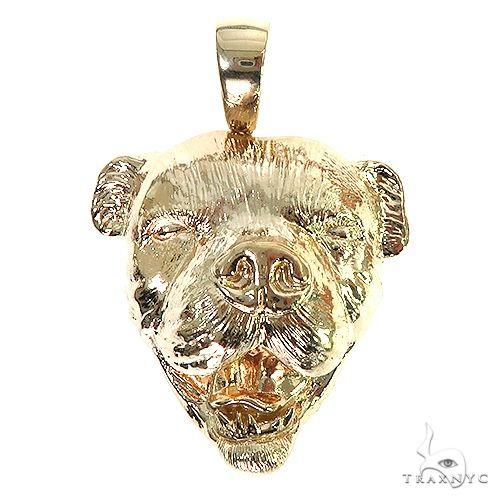 Custom Made American Bulldog Pendant 66707 Metal