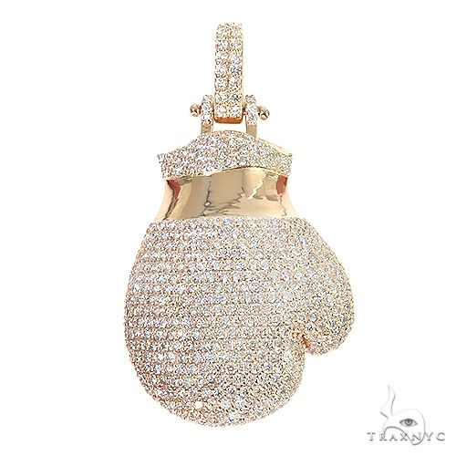 Custom Made Diamond Boxing Gloves 66753 Metal