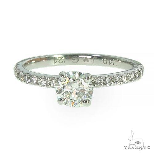 18K Gold Diamond Engagement Ring 66771 Wedding