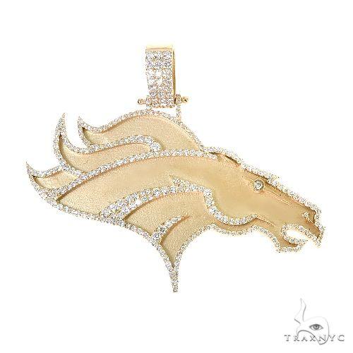 Custom Made 10K Gold Pendant 66840 Metal