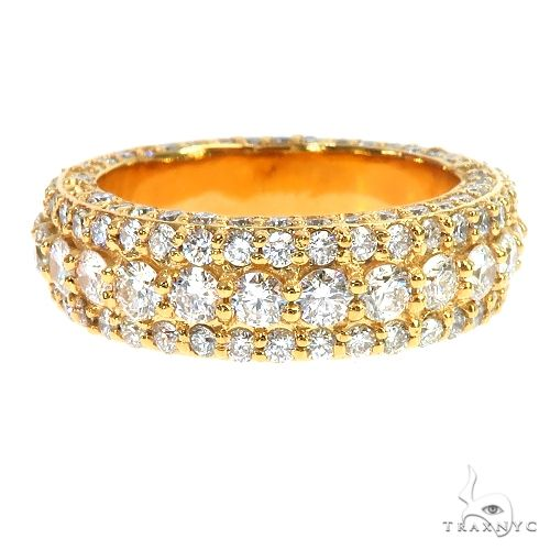 14K Gold Eternity Diamond Ring 66872 Stone