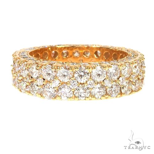 14K Gold Eternity Diamond Ring 66873 Stone