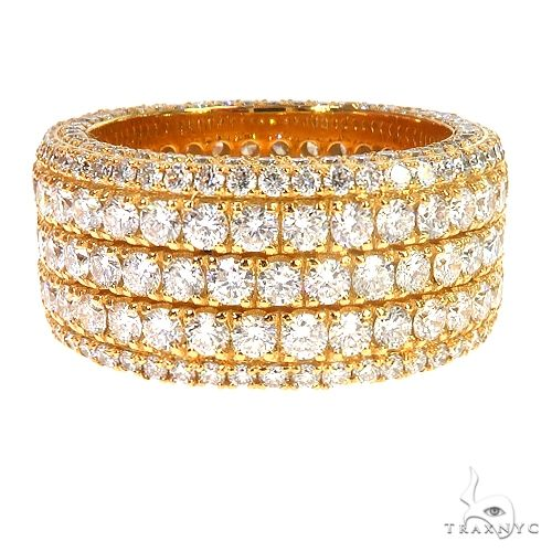 14K Gold Eternity Diamond Ring 66877 Stone