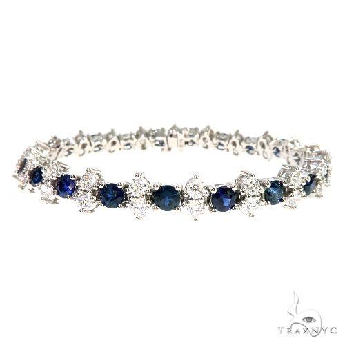 Meghan Sapphire Diamond Bracelet 66910 Diamond