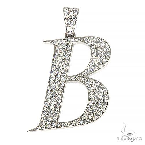 Frozen Initial B Pendant 66935 Metal
