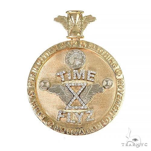 Custom Made Time FLYZ Pendant 66987 Metal
