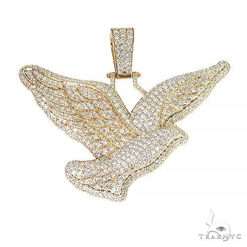 Trax Dove Bird Diamond Pendant 66988 Metal