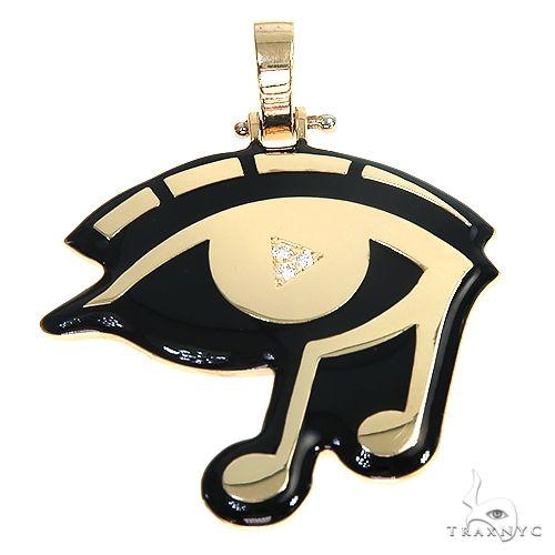 Eye of Horus DJ Logo Pendant 66994 Metal