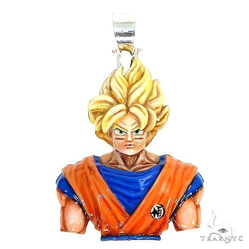 Custom Made Goku Pendant 66995 Metal