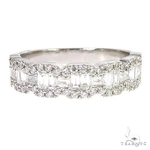 18k Gold Baguette Diamond Ring 67029 Anniversary/Fashion
