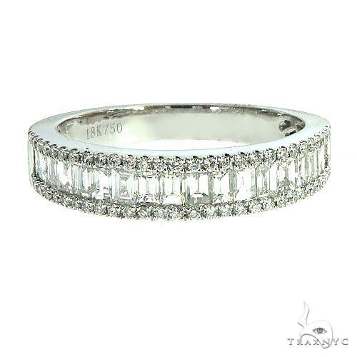 18k Gold Baguette Diamond Ring 67035 Anniversary/Fashion