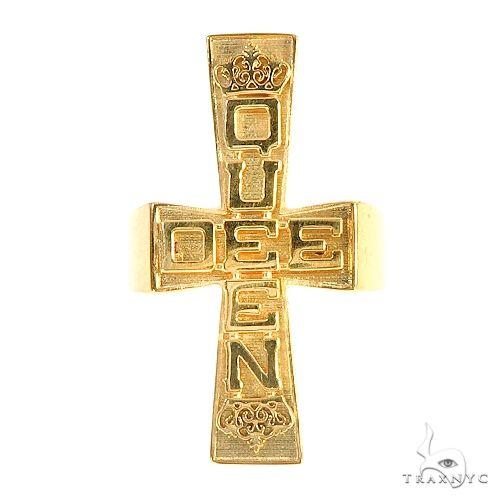.925 Silver Queen Dee Ring 67070 Metal