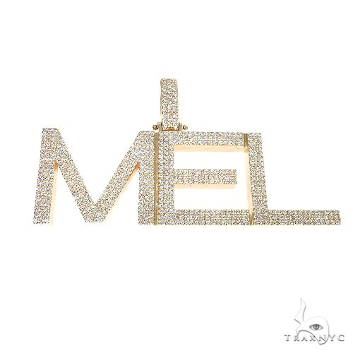Custom Made 'MEL' Diamond Pendant 67096 Metal