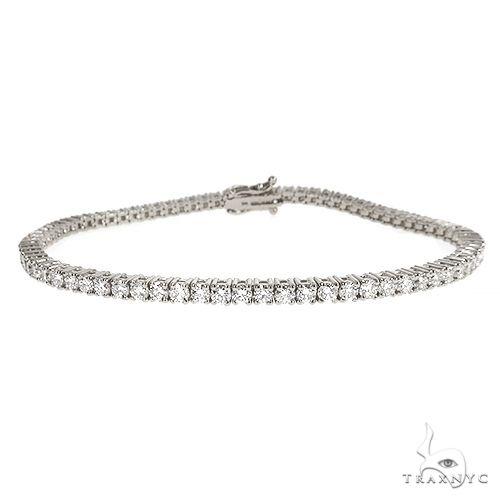 14K Gold Parcel Diamond Tennis Bracelet 67130 Tennis