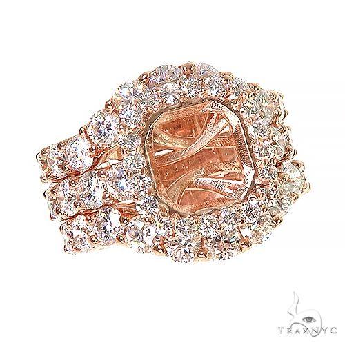 Custom Made Diamond Engagement Ring Set 67171 Engagement