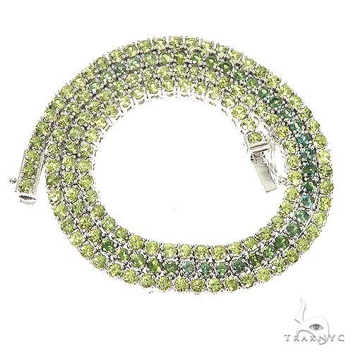 10 Pointe Grass Sapphire Tennis Chain 67192 Men Specials