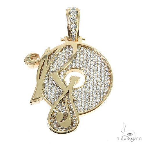 Custom Made Roc-A-Fella Diamond Pendant 67194 Metal