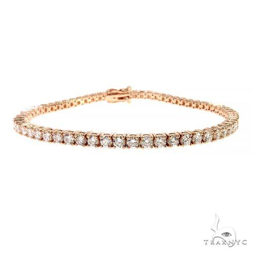 10 Pointer Parcel Diamond Tennis Bracelet 67198 Diamond
