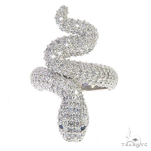 Snake Diamond Ring 67209 Anniversary/Fashion