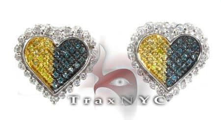 Mixed Star Earrings Stone