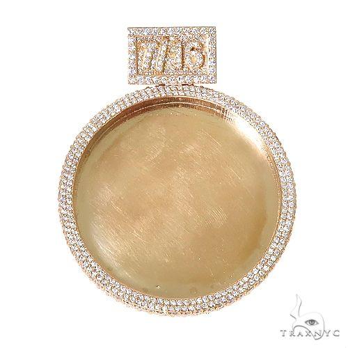 Custom Made Diamond Photo Pendant 67252 Style