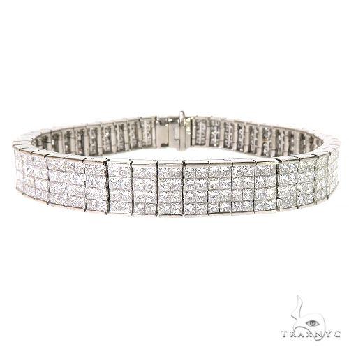 18K Gold The Hamptons Bracelet 67254 Diamond