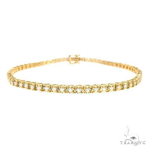 14K Gold Diamond Bracelet 67273 Diamond