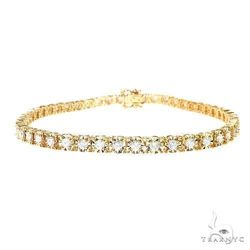 14K Gold Diamond Bracelet 67275 Diamond