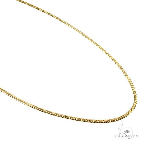 Thin Solid Miami Cuban Link Chain 10K Yellow Gold 18 Inches 1.9mm 5.5 Grams 67280 Gold