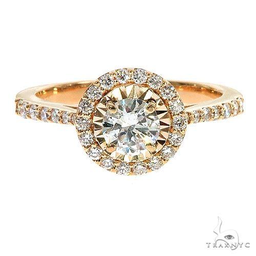 14K Gold Diamond Engagement Ring 67288 Style