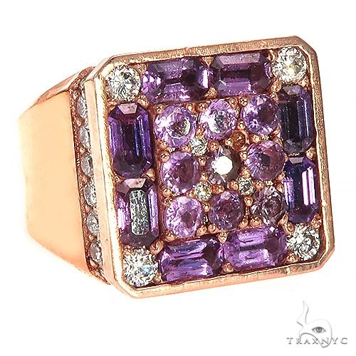 Royal Sapphire Diamond Pinky Ring 67290 Multicolor SAPPHIRE