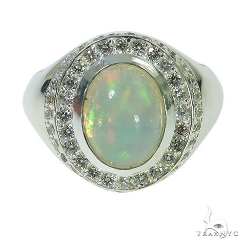 Silver Opal Ring 67339 Multicolor SAPPHIRE