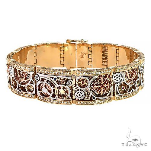 Grey Market Mechanical Watch Part TraxNYC Bracelet 67349 Gold