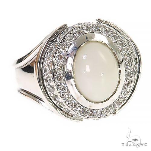 Silver Opal Ring 67357 Multicolor SAPPHIRE