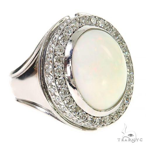 Silver Opal Ring 67358 Multicolor SAPPHIRE