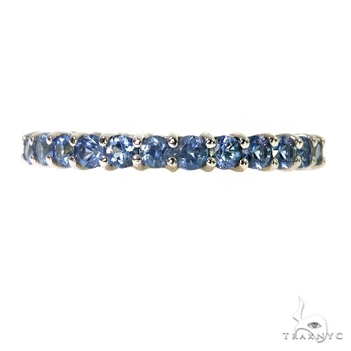 Sky Blue Sapphire Eternity Ring 67400 Stone