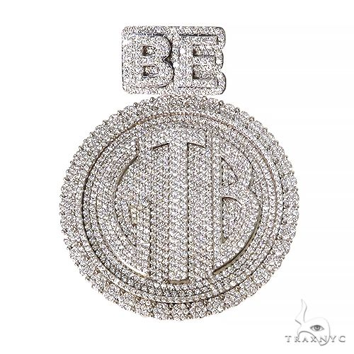 Custom Made Diamond Pendant 67442 Metal
