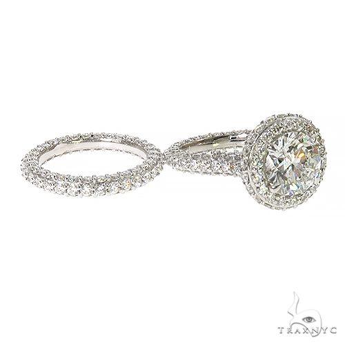 14K Gold Diamond Engagement Ring Set 67448 Style