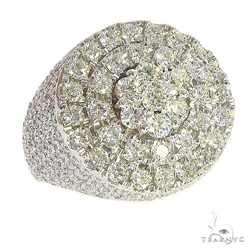 14K Yellow Gold Heavy Mayan Pinky Ring 62575 Stone
