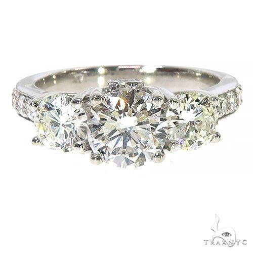 Custom Made Diamond Engagment Ring 67469 Style