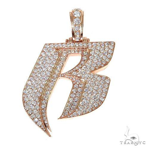 Ruff Ryders Diamond Logo Pendant 67472 Metal