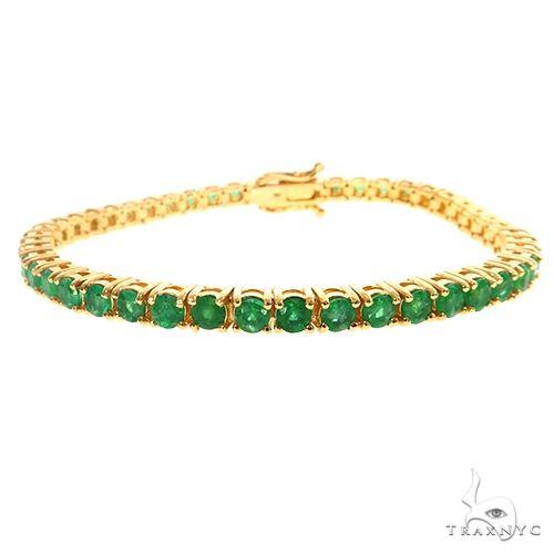 Emerald 20 Pointer Tennis Bracelet 67489 Multicolor SAPPHIRE