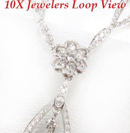 Lock Necklace Diamond